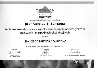 ortodonta_Kovalenko_Kristina_certyfikat_2