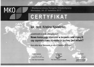ortodonta_Kovalenko_Kristina_certyfikat_3