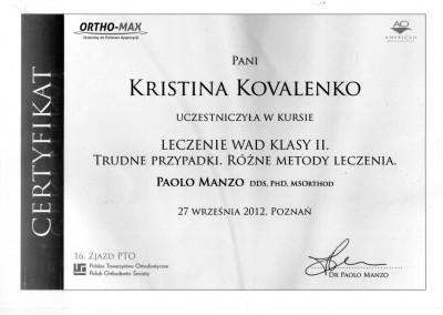 ortodonta_Kovalenko_Kristina_certyfikat_5