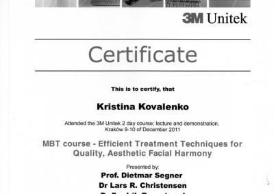 ortodonta_Kovalenko_Kristina_certyfikat_6