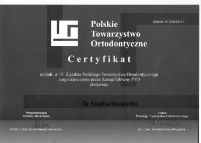 ortodonta_Kovalenko_Kristina_certyfikat_8