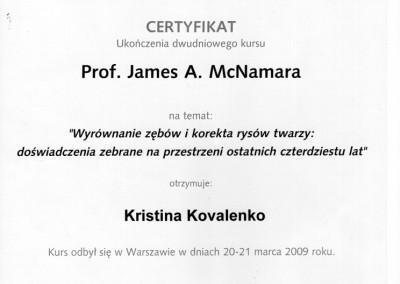 ortodonta_Kovalenko_Kristina_certyfikat_9